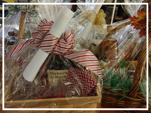 One of many , truly incredible  gift baskets.