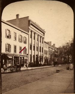 Photo of where Peter Baltimore worked.