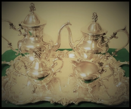A  Beautiful  20th Century Silver Tea & Coffee Service