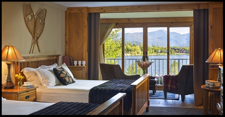Two nights lodging for two people at the    Mirror Lake Inn Resort & Spa   , (Lake Placid, NY), in a Classic Guest Room with two queen size beds and a partial lake and mountain view, including breakfast!    Conditions/Limitations: The gift certificate is valid for a one-year period from date of event and is non-transferable. The gift certificate may not be used in conjunction with or in replacement of any lodging packages offered by the Inn. The gift certificate is non-transferable. The winner must make reservations through Stephanie Lang, or a Front Desk Supervisor or Manager and must have their gift certificate number available for reference. Reservations may be made based upon our determination of availability during the following dates: October 21st through December 20th, 2018, January 2nd through June 20th, 2019. Not Valid: Holiday Periods or Special Events.