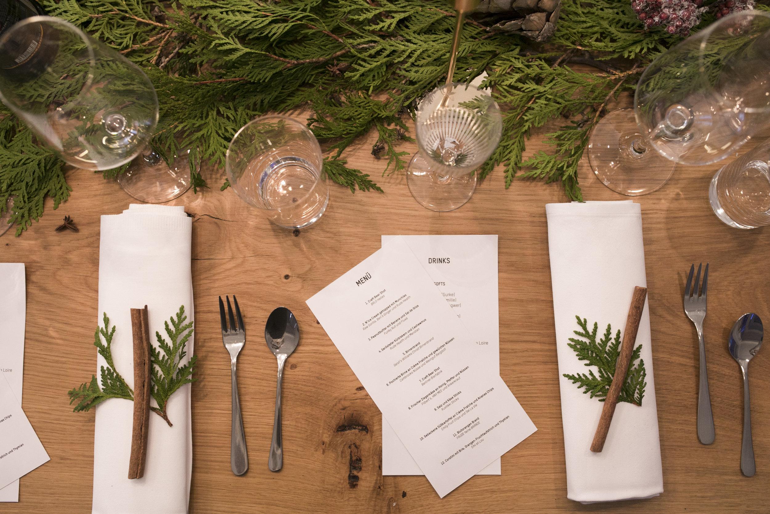 Foodist Weihnachtskalender.Foodist Advent Calendar Menu Studio Inés Lauber