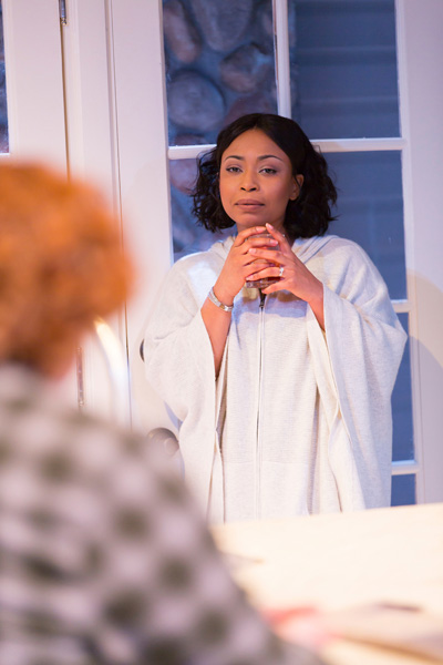 Renee Shapiro-Epps in 'Hurricane Diane' by Madeleine George at Two River Theatre, directed by Leigh Silverman.