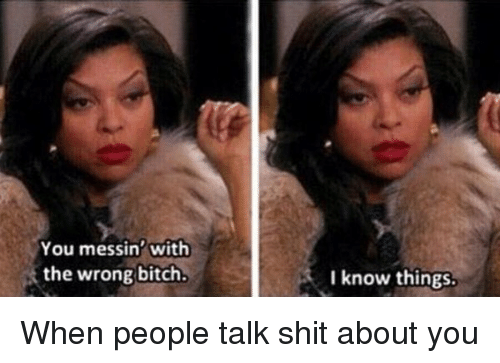 Maybe I was the only one taught that unless it impacts you, it's not your business. Or that you shouldn't mess with folx careers and personal lives.