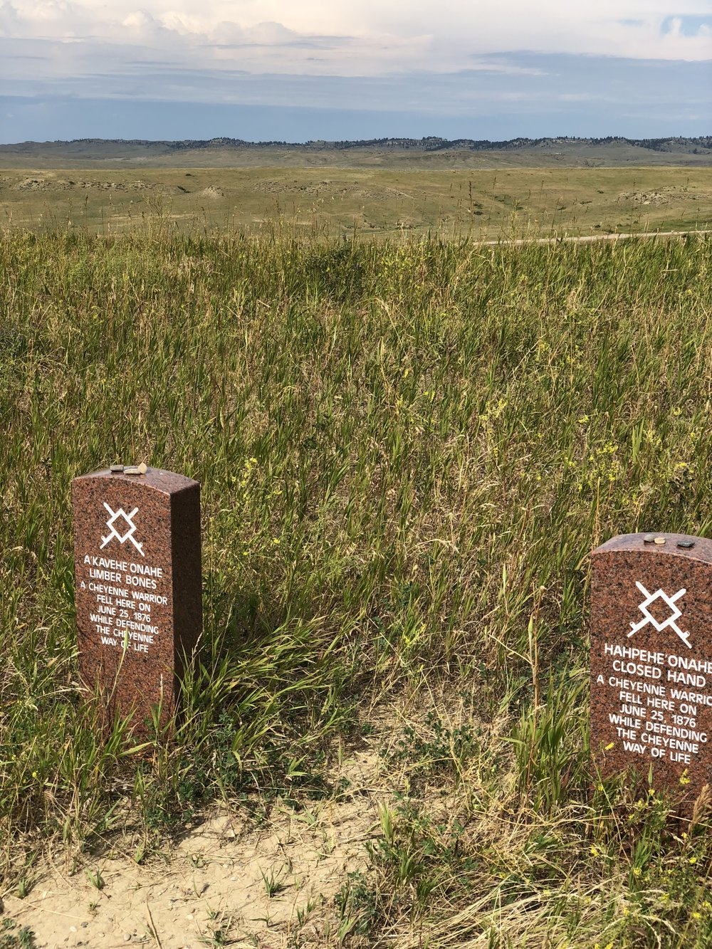 Cheyenne Burial Markers