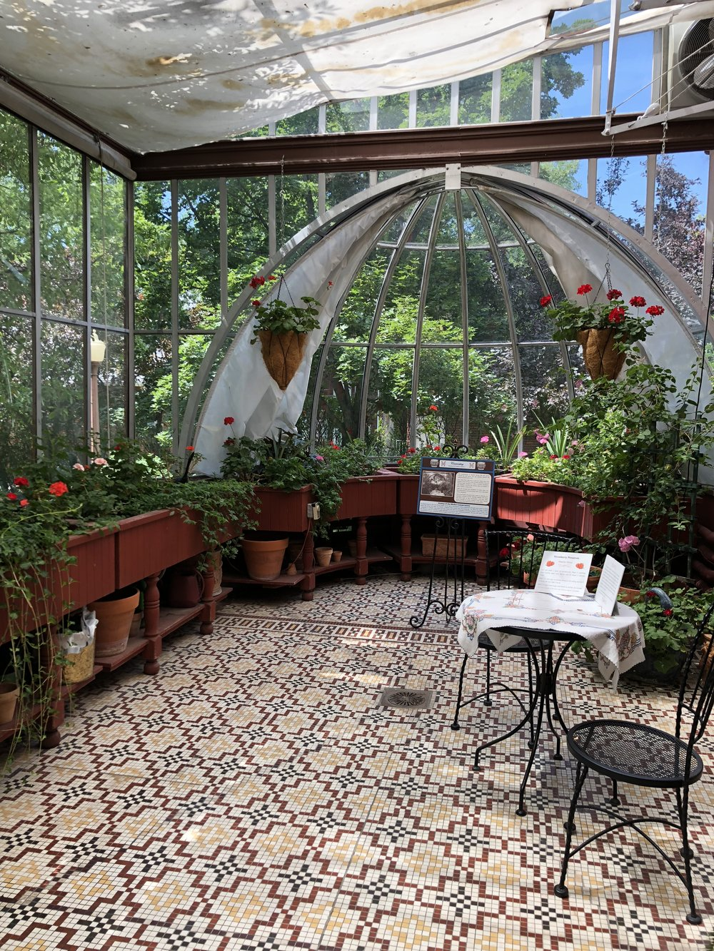 Moss Mansion Conservatory