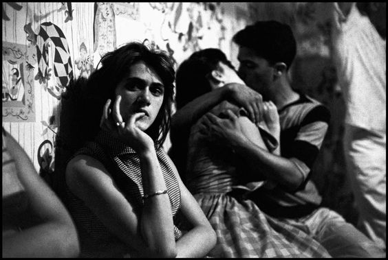 Bruce Davidson,  Brooklyn Gang , New York, 1959.