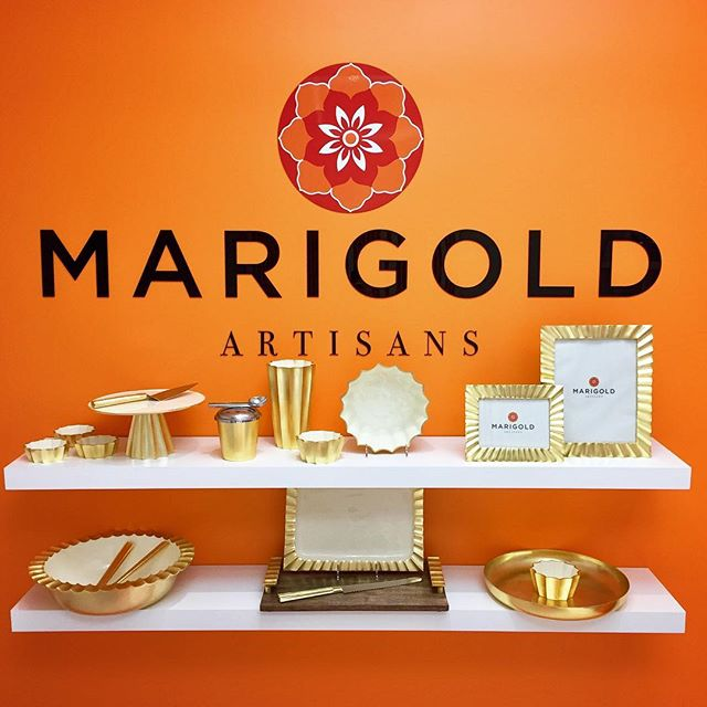 Announcing Marigold Artisans' Fall 2017 Launch, Gold Fluted! Come see us at the Marigold Artisans Space at the Michael Aram Apartment.