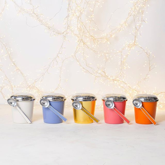 When you can't pick just one. Personalize your treats this season with our Signature Ice Cream Container with Scoop. Shop link in bio.  #thanksgiving #winter #christmas #desserts #holidayfun #holidays #celebration #food #icecream #interiordesign #style #luxury
