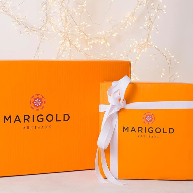 Give them a gift that gives back. A percentage of all Marigold Artisans sales go towards helping various children-based charities, such as the @childrensburnfoundation. Shop Marigold Artisans for everyone on your list this holiday season.