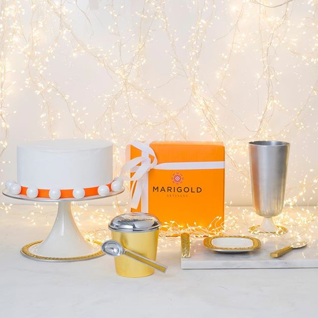 A treat for everyone this season. Shop everything you need for the perfect celebration from Marigold Artisans I'm stores and online today.