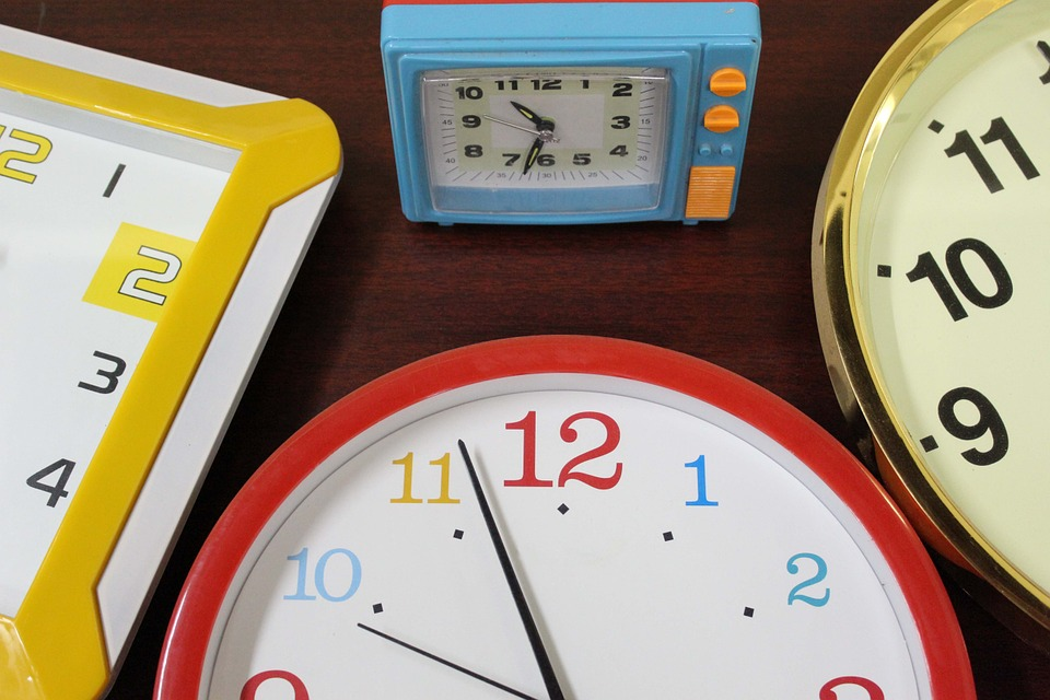 Time Clocks Wall Clock Alarm Alarm Clock Hour