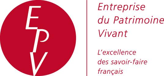 The Entreprise du Patrimoine Vivant (Living Heritage Company, or EPV) label is a mark of recognition of the French State, put in place to reward French firms for the excellence of their traditional and industrial skills.