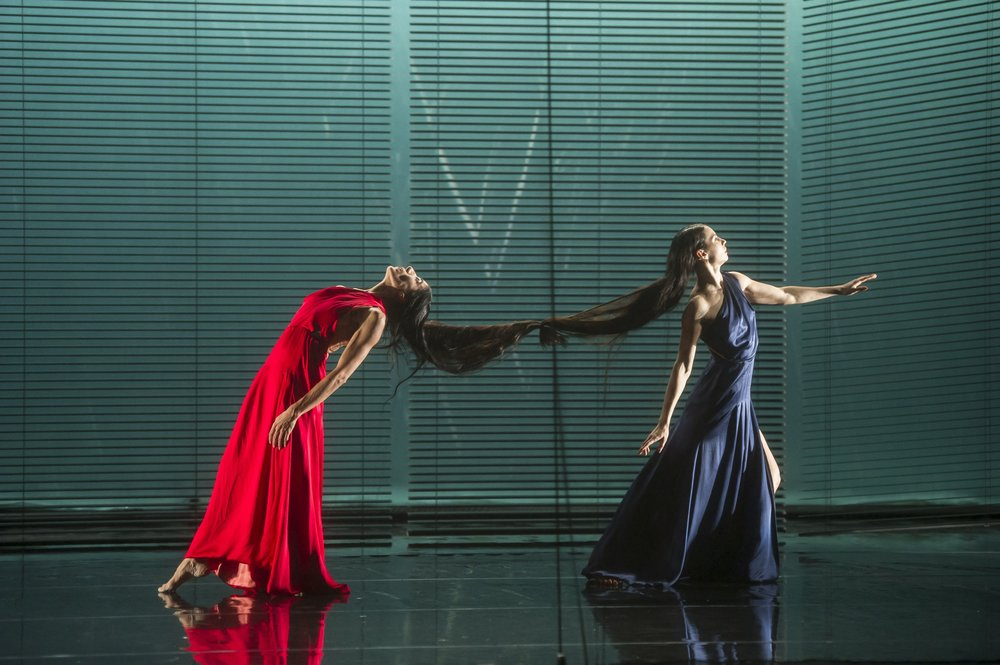 Bianca Li and Maria Alexandrova in Sophie Theallet's dresses - Copyright Lauren Philippe