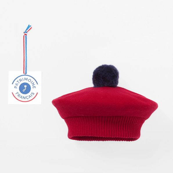 The French Beret made in France by Jacadi