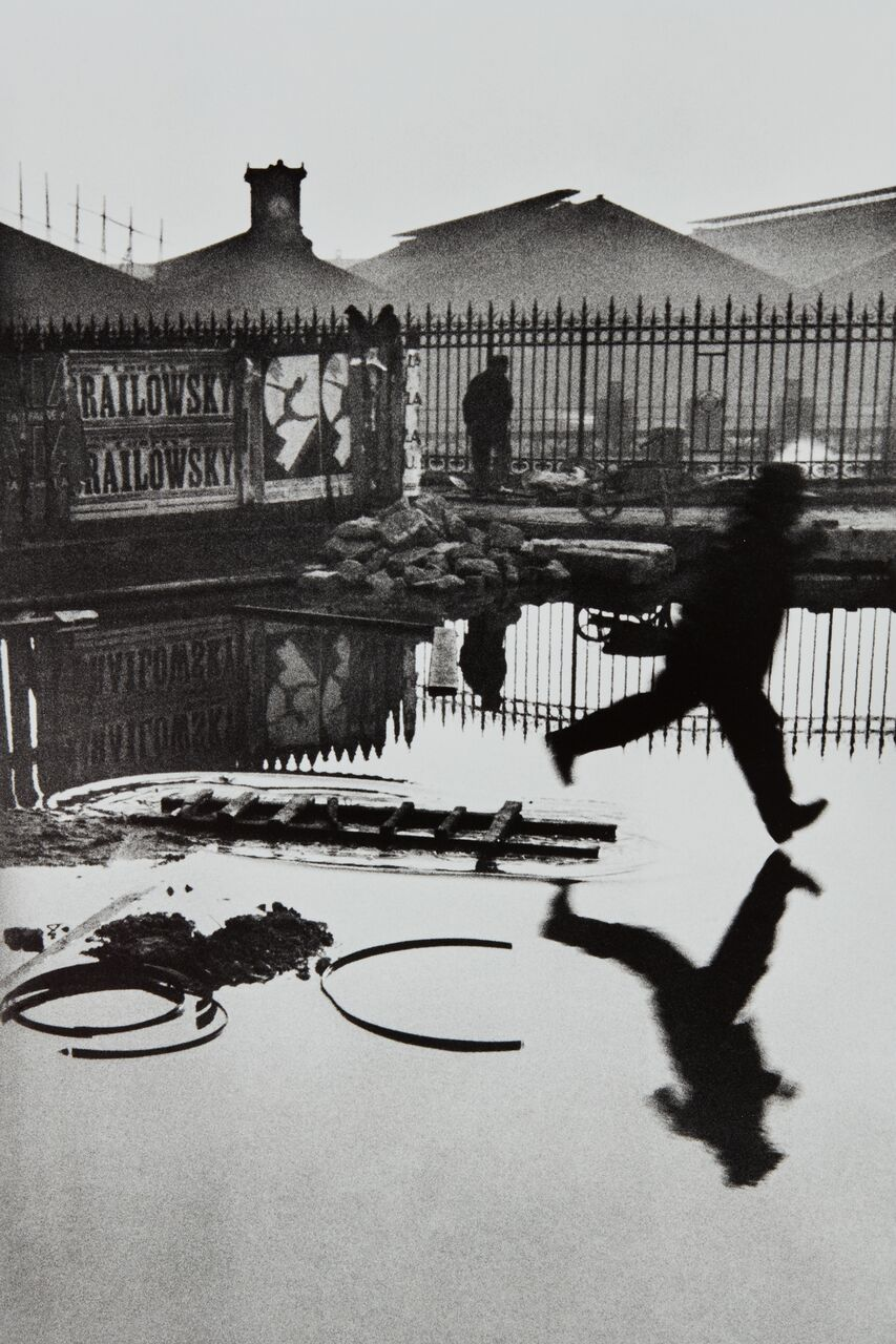 Henri Cartier-Bresson, Behind the Gare St. Lazare, Paris, 1932