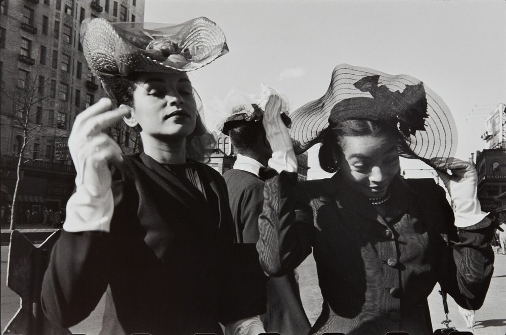 Henri Cartier-Bresson, Easter Sunday in Harlem, New-York, 1947