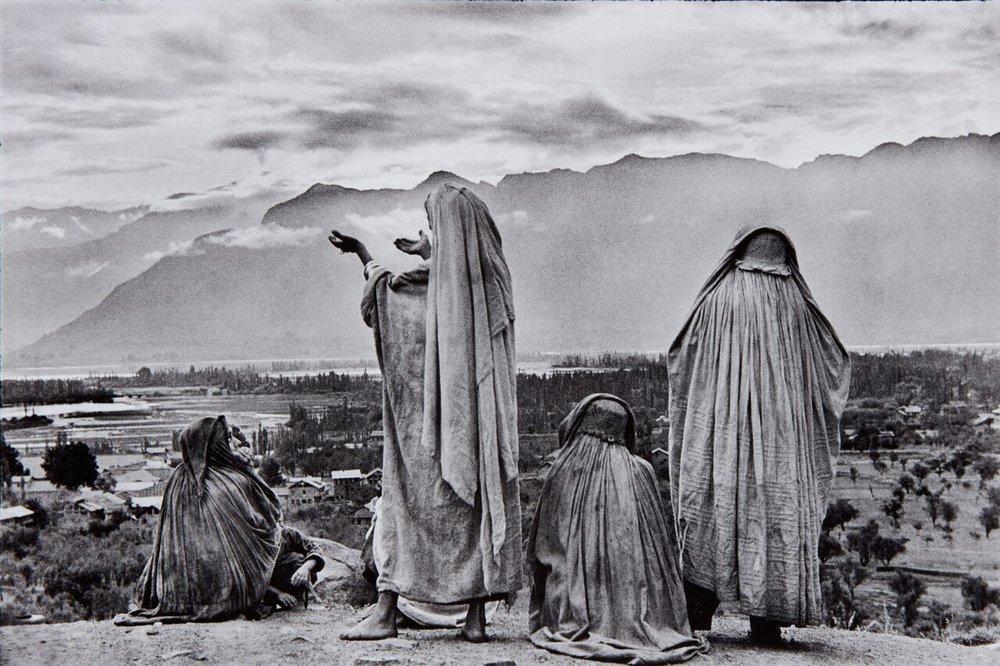 Henri Cartier-Bresson,Srinagar, Kashmir, 1948