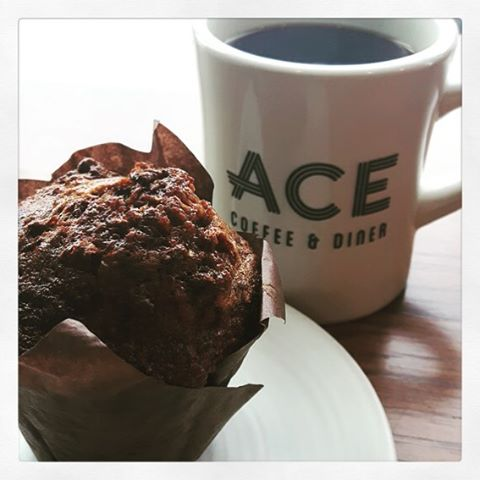 Nothing like a coffee and a muffin from ACE to warm you up with these chilly days ahead! #morningcoffee #goodeats #coffeefordays #yyceats #eatlocal #eatlocalyyc #yyccafe #supportlocalbusiness