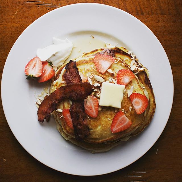 New amazing buttermilk pancakes at ACE! Check our new menus