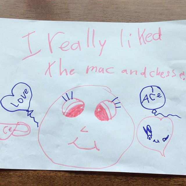 This is the kind of magic that happens over at ACE diner!! Kids menus are only $5 all day on Tuesdays!! #acediner #yycfood #goodeatsyyc #eatlocal 👌🏼😃