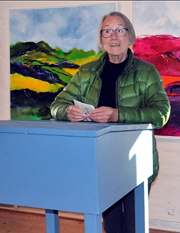 Formand Grete Johansen åbner udstillingen