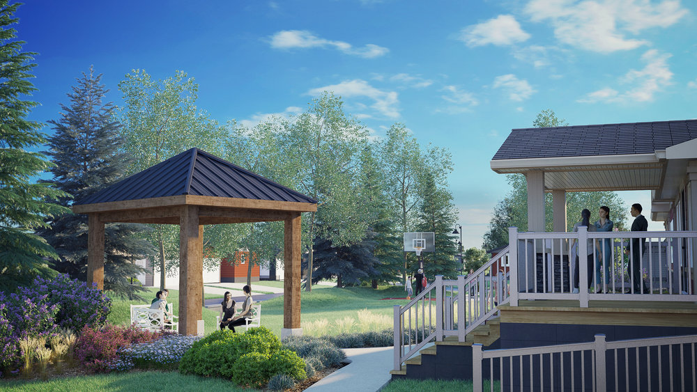 Meadows of Morinville, a new community with a perfect urban/rural balance. Click here to view on the VR headset.