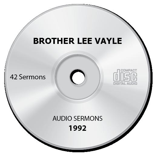 1992 Sermon Archive