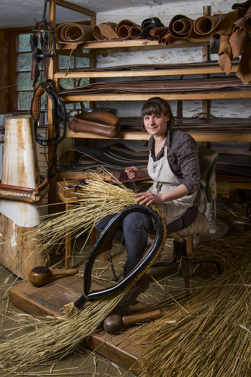Kate Hetherington - Harness Maker