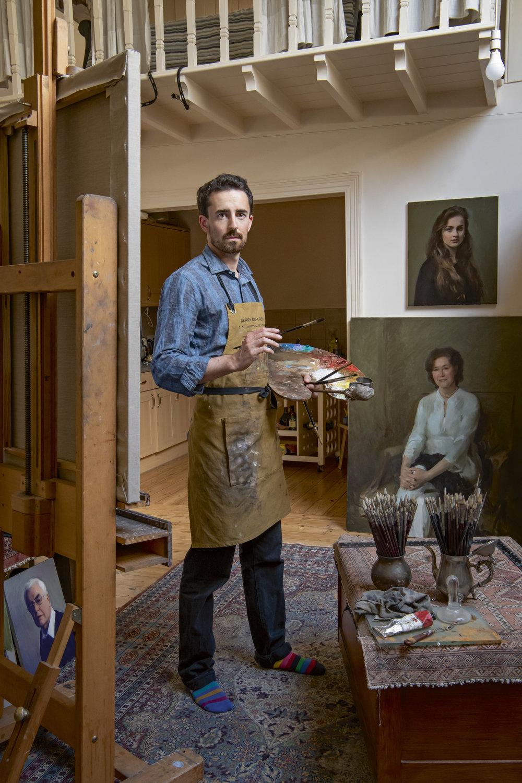 Jamie Coreth - Portrait Artist