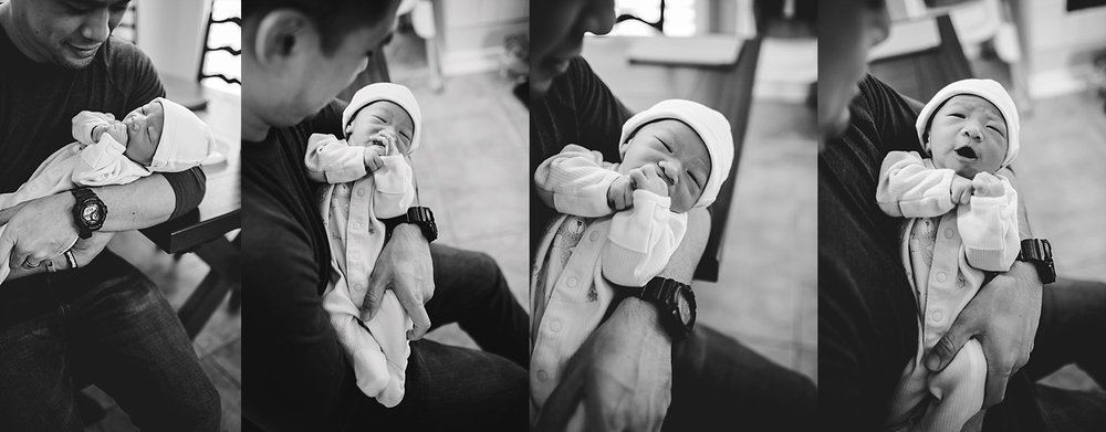 orange county lifestyle newborn photographer