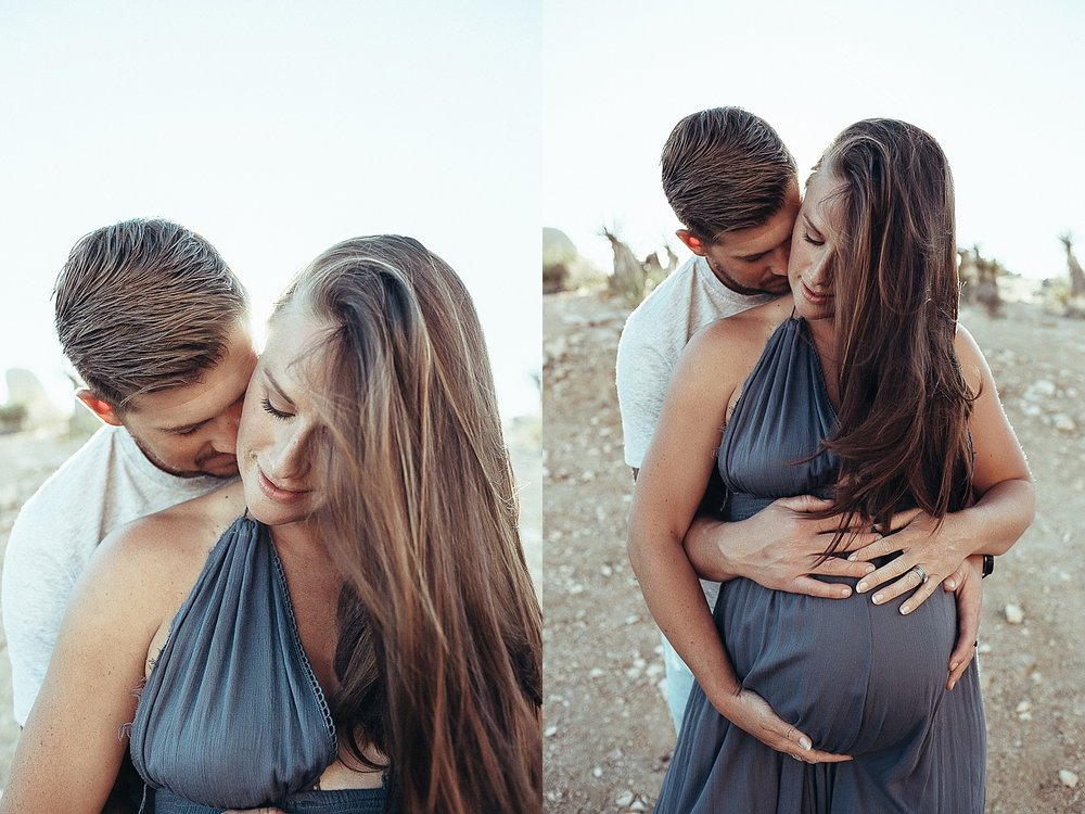 Joshua Tree Maternity Photographer