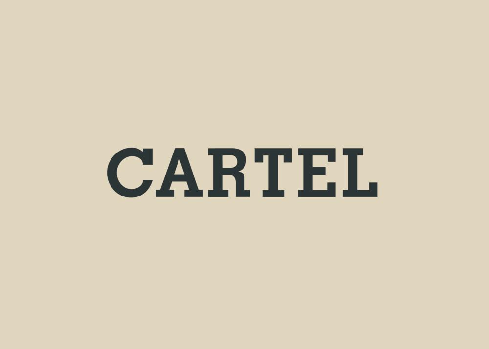 Cartel Letter Design