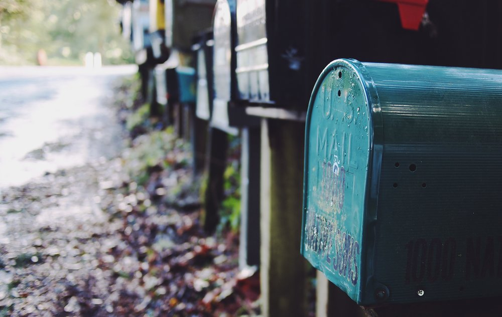 You may have recieved a DMCA take down notice. No, your mailbox doesn't have to look this cool.