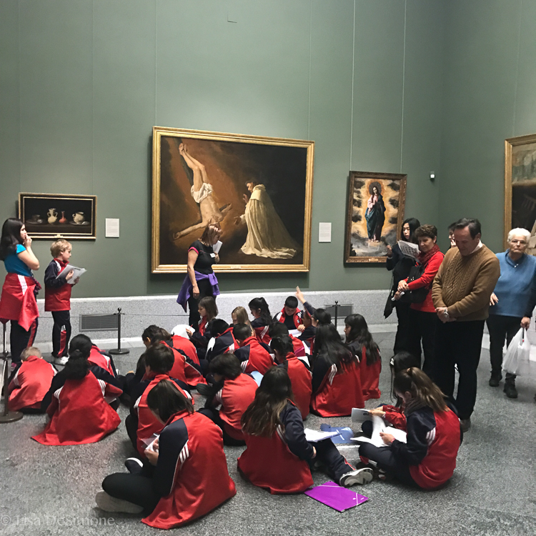 Class is in session at The Prado