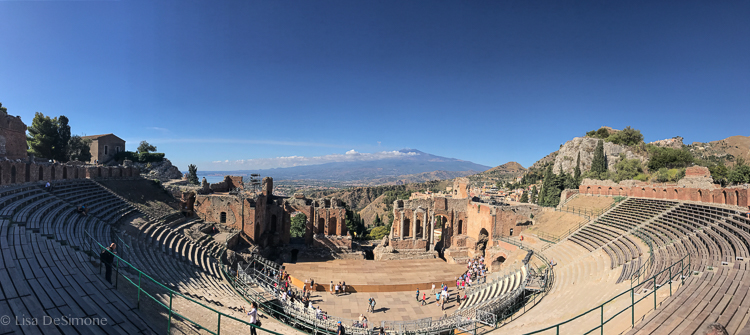 Taormina's Teatro Greco (Greek theater)