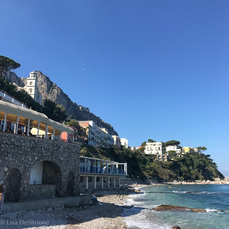 The harbor of Capri.
