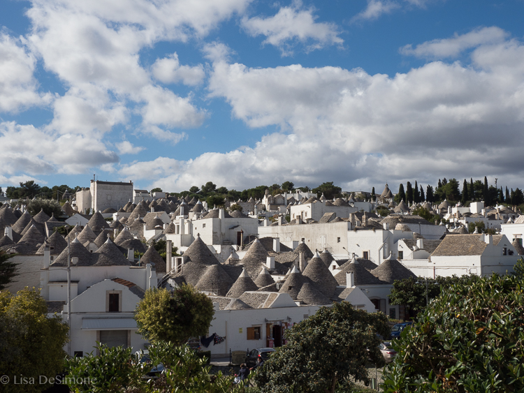 The town of Alberobello
