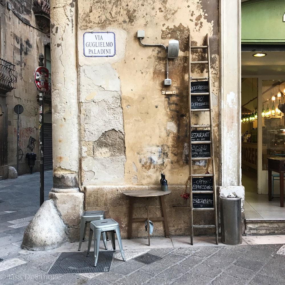 Lecce street scenes