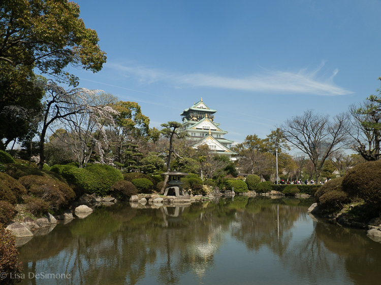 A shrine complex and gardens in Osaka, Japan
