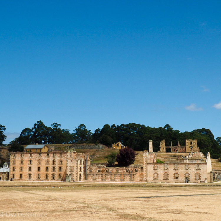 The Three Capes Track starts at the Port Arthur Historic site