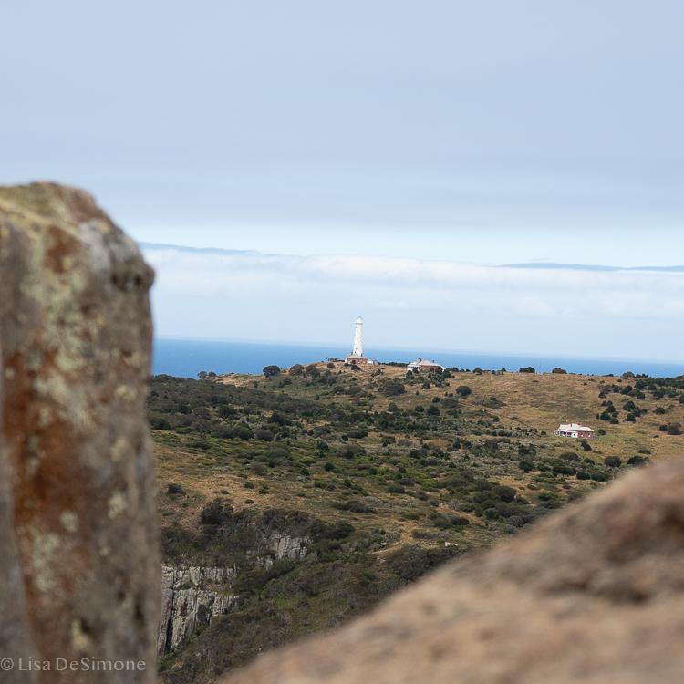 The lighthouse on Tasman Island