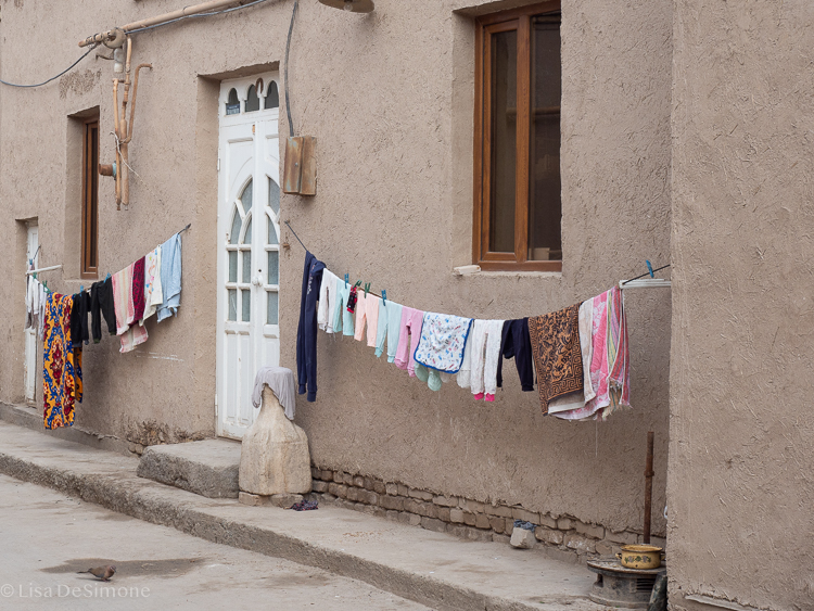 a typical house located in khiva, uzbekistan