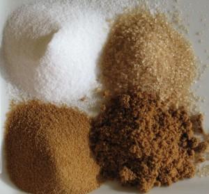 4 Types of Sugar