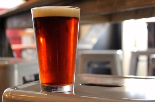 Austin  -  American Amber Ale  -  6.5% ABV  -  29 IBU   Austin's Amber is the first small batch beer we brewed.  Named for a member of our family, who's birthday happens to be Red Hill's birthday, Austin is a medium bodied Amber Ale with a big malt forward backbone.  Brown, Chocolate and Munich malt help give Austin it's rich Amber color and lend subtle biscuit, chocolate and coffee flavor notes.  Hop additions of Horizon, Cascade and Centennial help to balance this Amber Ale interpretation.  The Malt shines in our Amber; nutty and smooth!