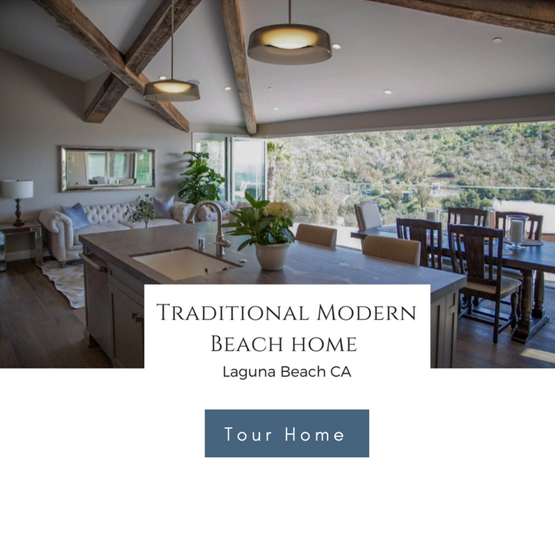 Traditional Modern Home By The Sea — LEONI HOMES BLOG