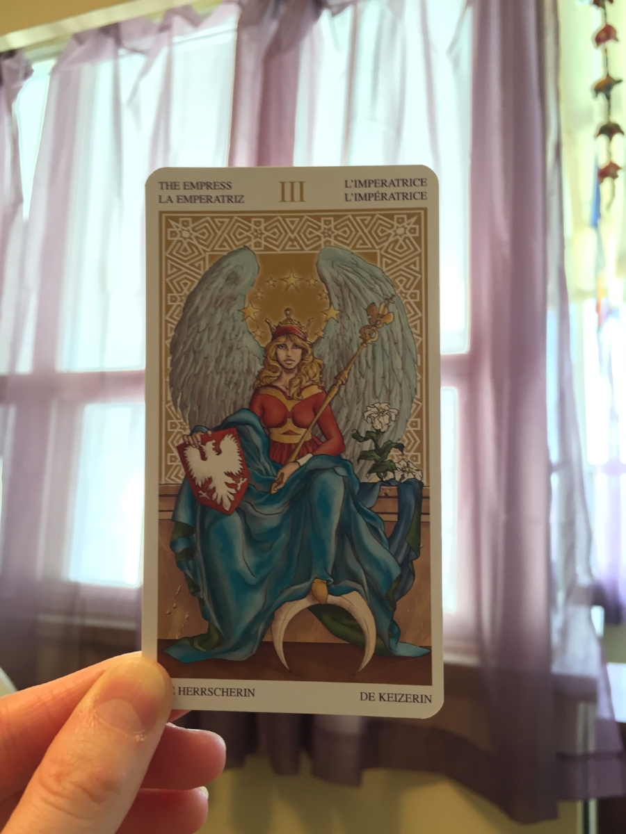 'The Empress' - deep connection with femininity, fertility, beauty, nurturing, abundance