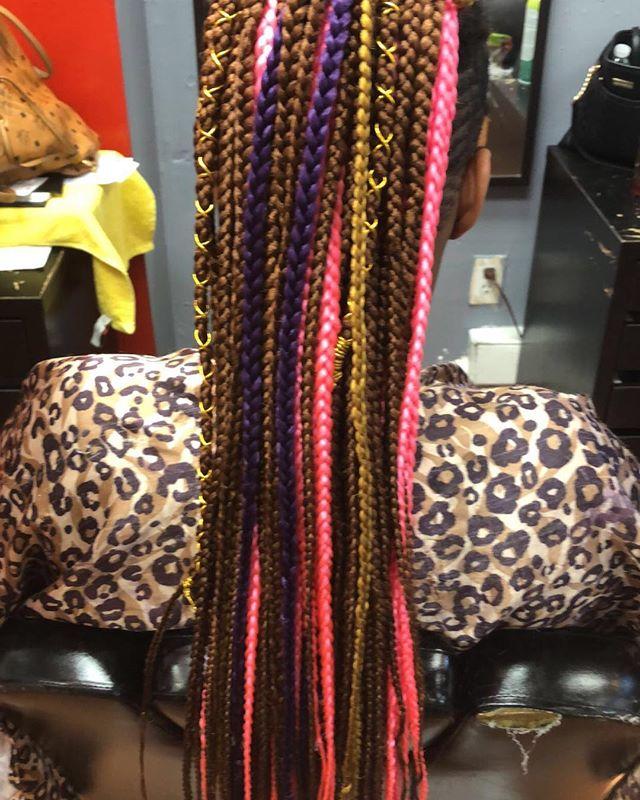#boxbraids#braids