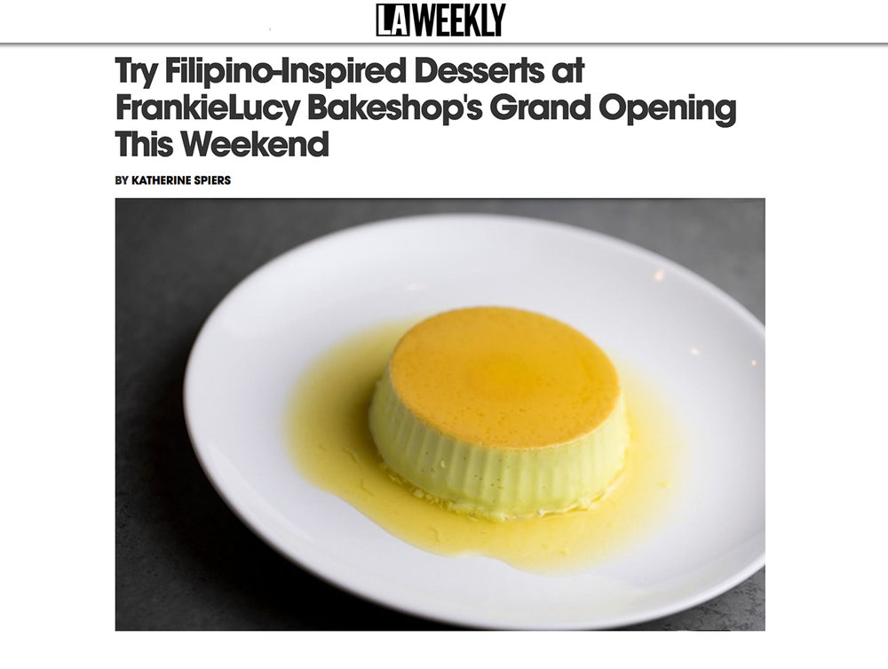 Feature - La WEekly