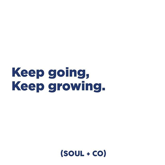 Don't let anything stop you. #embracesoul #soulandco