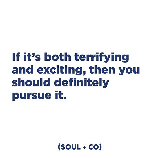 Challenge yourself and you will be rewarded. #embracesoul #soulandco